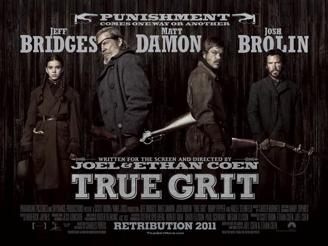 True Grit-- A Witty Western that Will Leave You Weeping (If You're My Mom)