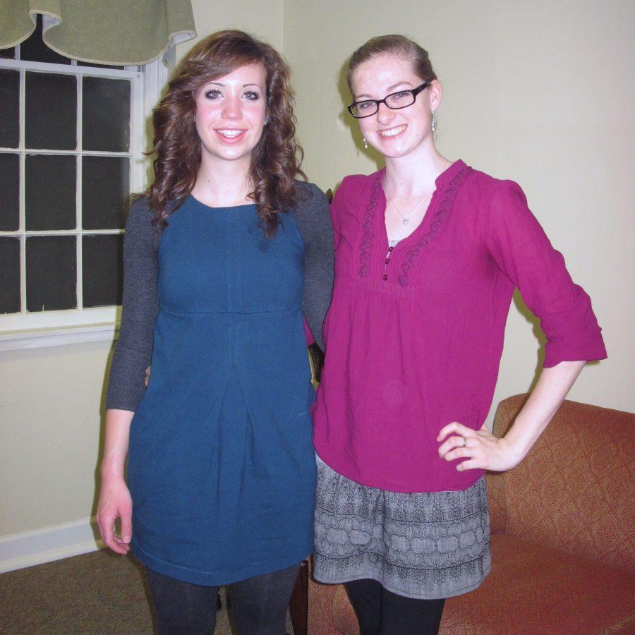 Stephanie (right)