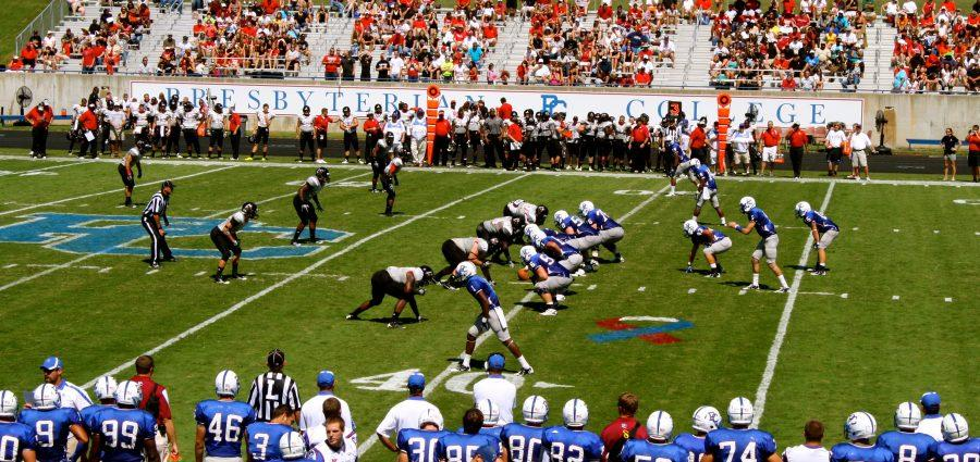 Blue Hose March Over The Crusaders