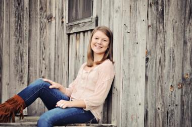 Freshman Hayley Potter
