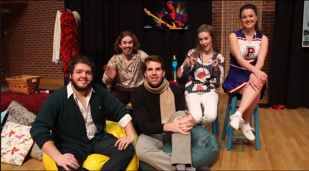 Taken from PC TV's interview of the Godspell Cast.