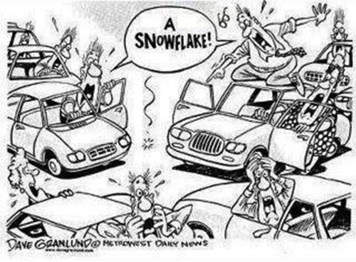 snowflake comic
