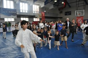 tai chi lesson intl day