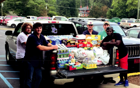 PC students rally to help flood victims
