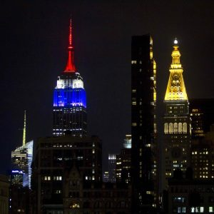 new york supports paris