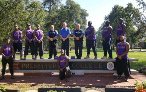 Omega Psi Phi and PC Campus Police Stand Together