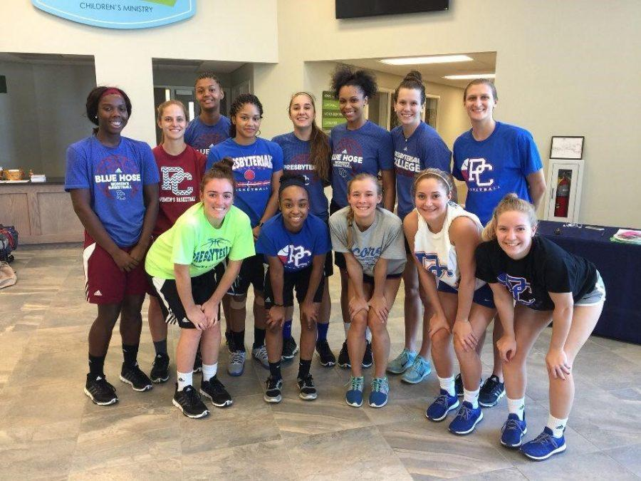 Women's Basketball Team Gives a Helping Hand to Hilton Head