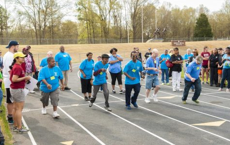 A photo from last year at the thirty-sixth annual Special Olympics hosted at PC. | Photo courtesy of PC Student Volunteer Services