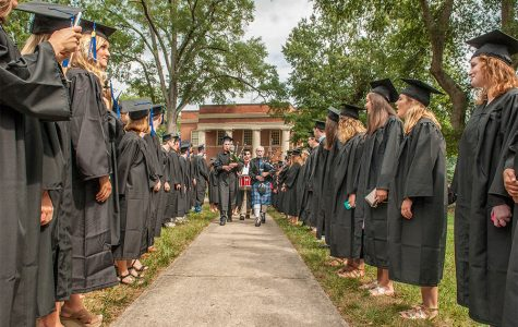 The class of 2017 at opening convocation. | Courtesy of Presbyterian College