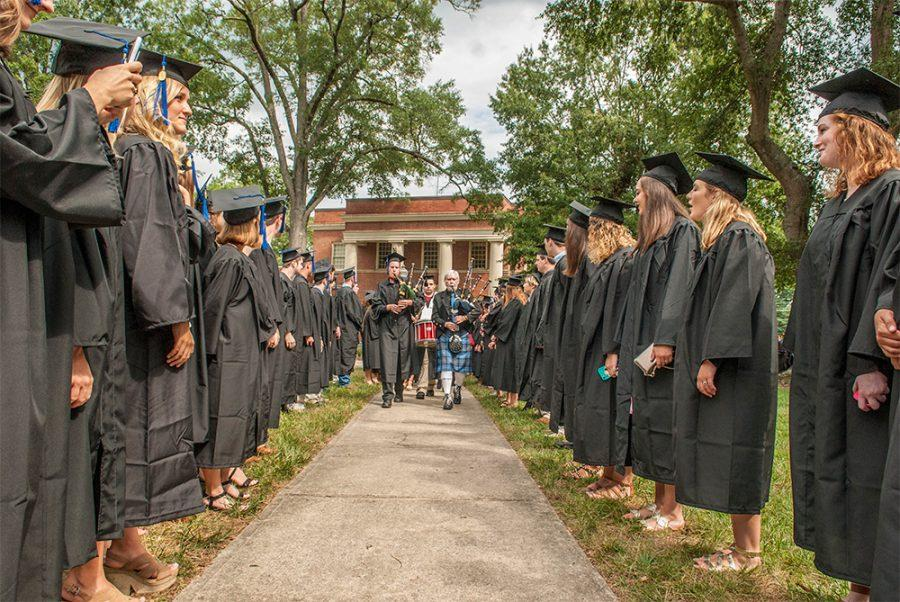 The+class+of+2017+at+opening+convocation.+%7C+Courtesy+of+Presbyterian+College