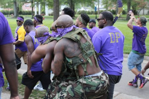 Omega Psi Phi Inducts New Members