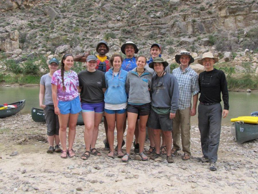 Presbyterian College students camp in canyon to build community