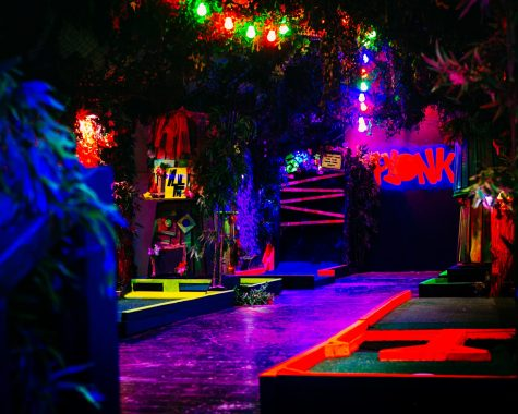 Neon Mini Golf to light up campus