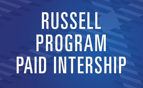 The Russell Program allows students to get experience in media and communication through paid internships.